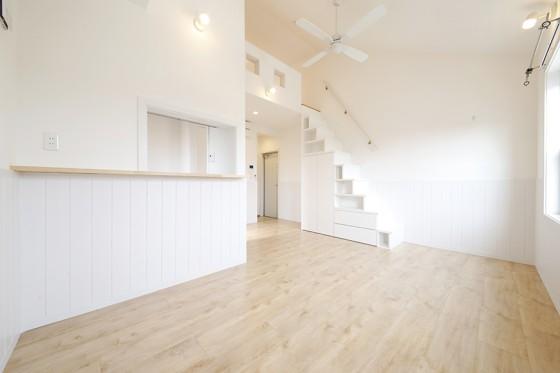 【プリマ緑丘壱番館】サロン利用可♡白色の壁のお部屋