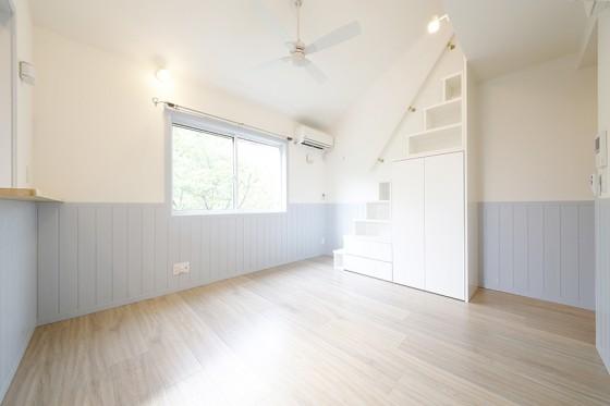 【プリマ緑丘壱番館】サロン利用可♡水色の壁のお部屋