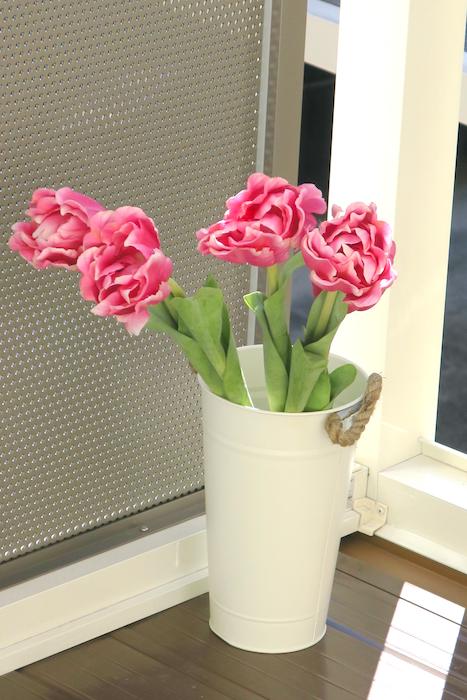 アンジェリケ・ユイットの名前のお花。八重のチューリップです。IMG_0584