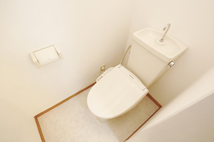【TOMEI-BASE】トイレ_ウォシュレットを新品に交換完了!_MG_9818