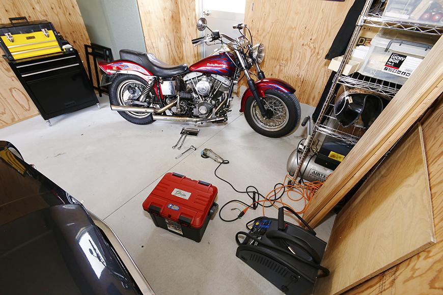 【TOMEI-BASE】ガレージ_車・バイク_棚・工具_作業場所_MG_9744