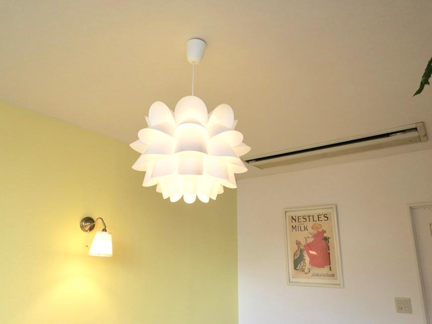 THe PLace  照明はとっても大切な空間を彩る小物です。