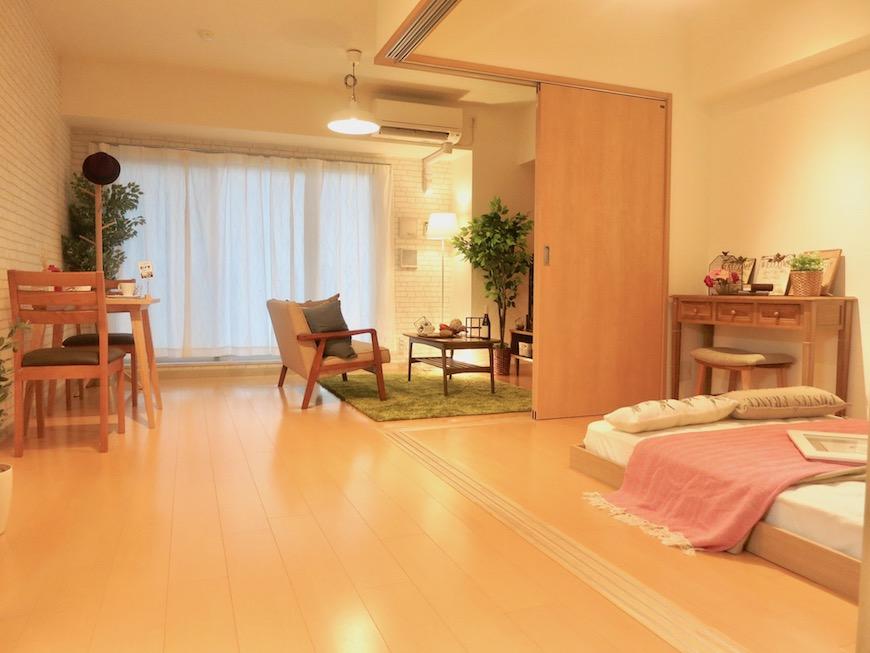 ラヴィータ泉 Aタイプ14 使いやすい1LDKのお部屋。