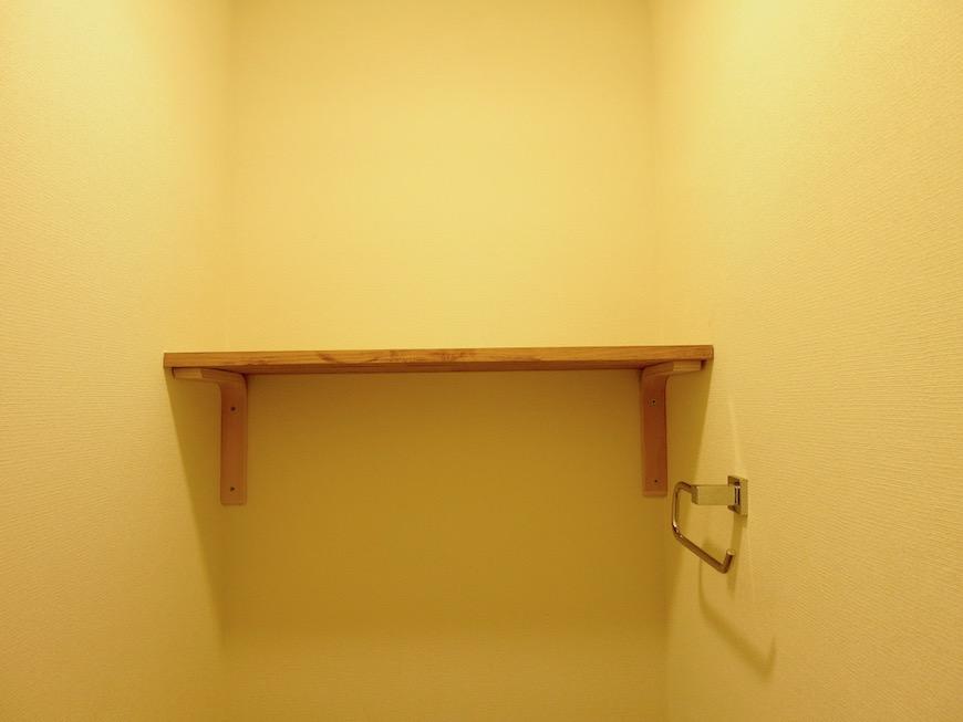 7A ナゴヤマンション今池 トイレ TOMOSのシンプルナチュラルな小物 2