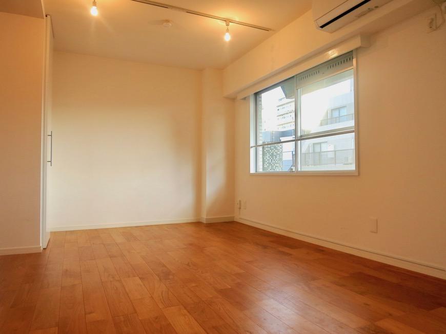 7A ナゴヤマンション今池  無垢の床ナチュラルなホワイトの壁 TOMOS ROOM6