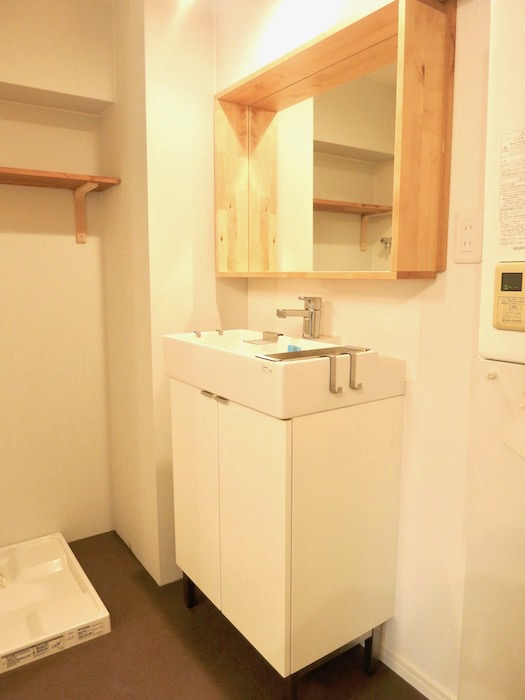 7C ナゴヤマンション今池 バスルーム脱衣スペース TOMOS 1