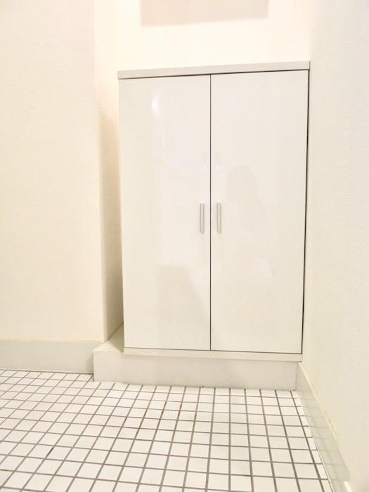 7C ナゴヤマンション今池 ナチュラルホワイトの玄関   TOMOS ROOM5