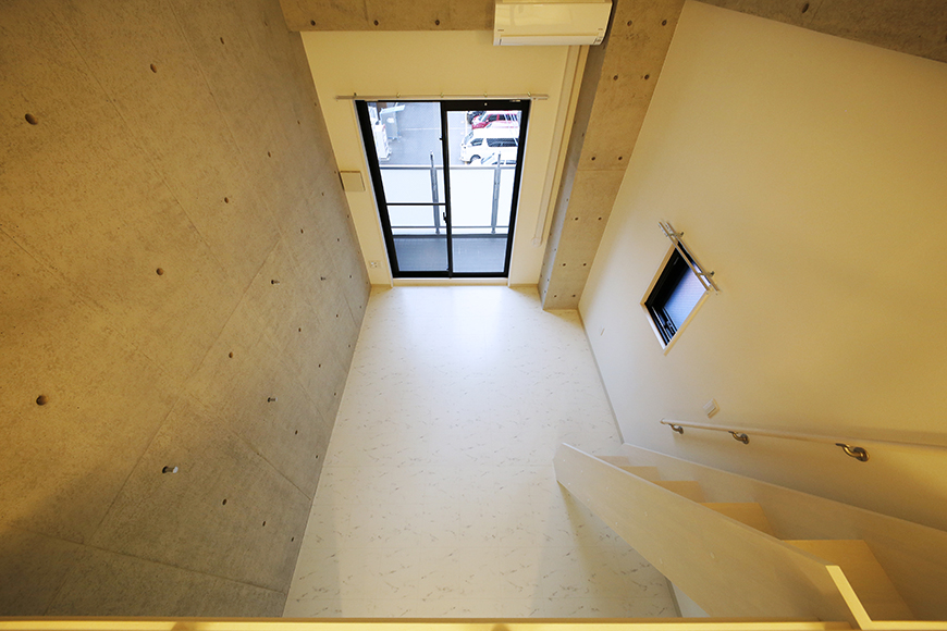 【Gstyle栄東】ロフトから洋室の眺め_MG_8923
