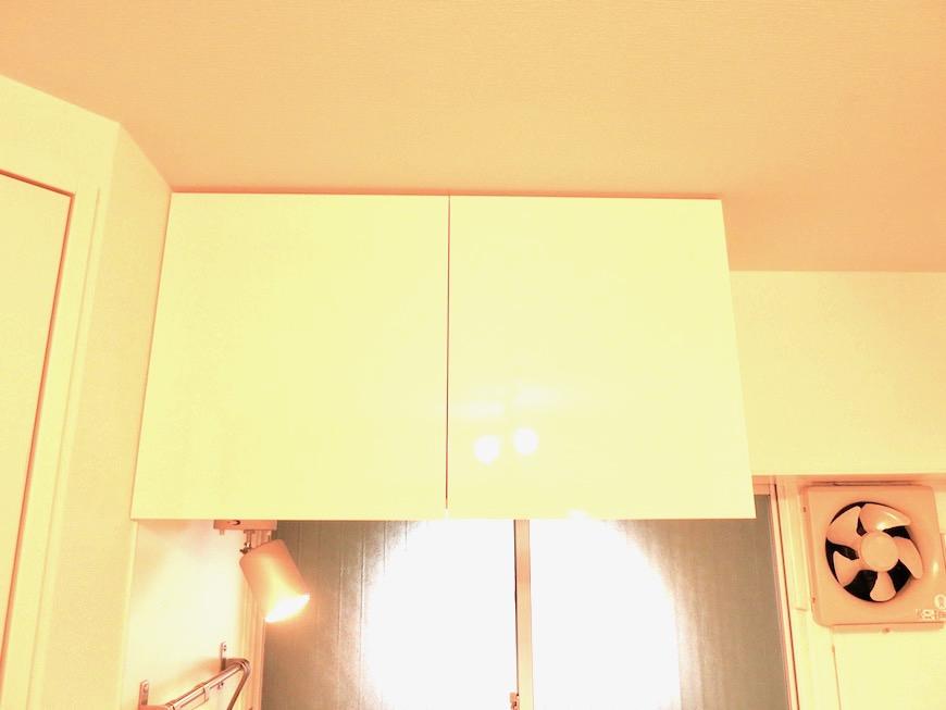7C ナゴヤマンション今池 ナチュラルホワイトの可愛いキッチン TOMOS 9