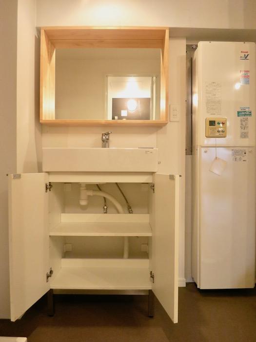 7C ナゴヤマンション今池 バスルーム脱衣スペース TOMOS 4