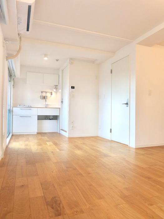 7A ナゴヤマンション今池  無垢の床ナチュラルなホワイトの壁 TOMOS ROOM5