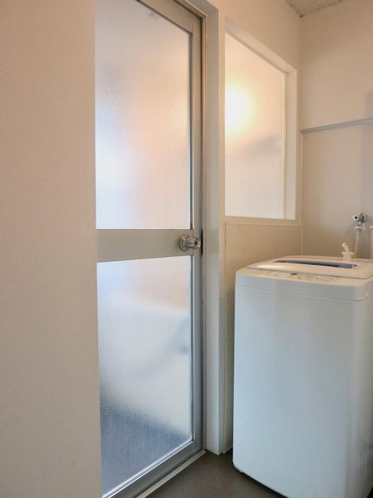 7A ナゴヤマンション今池  バスルーム 洗濯機付き 設置済み2