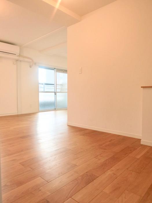 7A ナゴヤマンション今池  無垢の床ナチュラルなホワイトの壁 TOMOS ROOM9