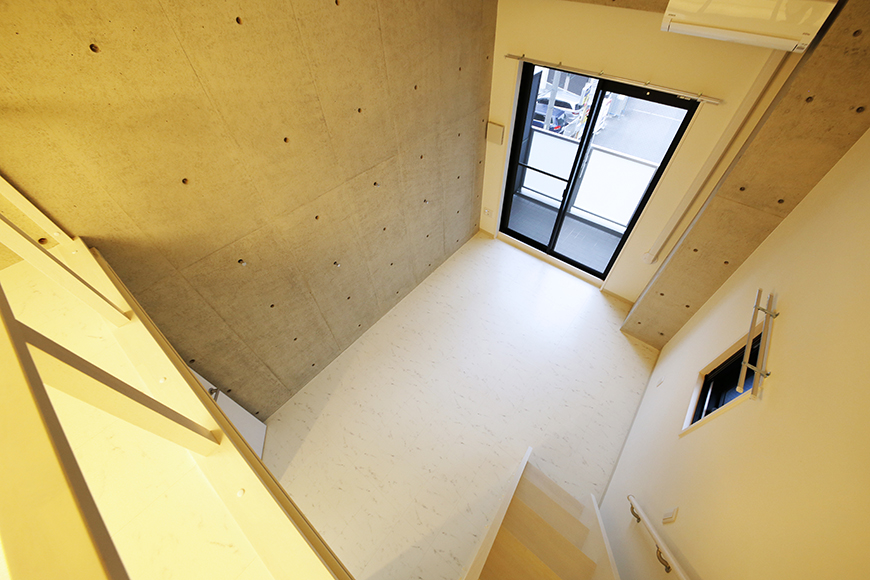 【Gstyle栄東】ロフトから洋室の眺め_MG_8926