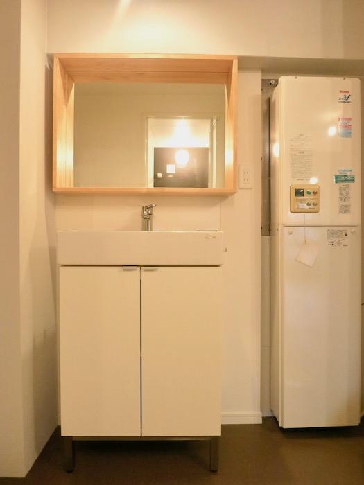7C ナゴヤマンション今池 バスルーム脱衣スペース TOMOS 3