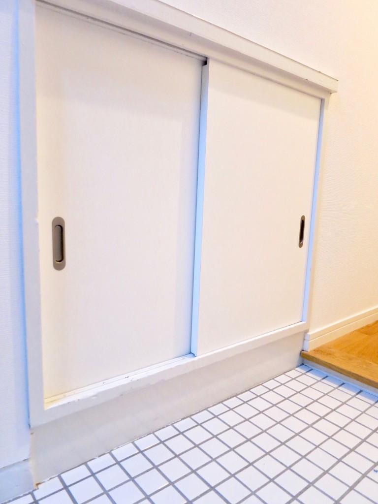 7A ナゴヤマンション今池 TOMOSのシンプルナチュラルな玄関3
