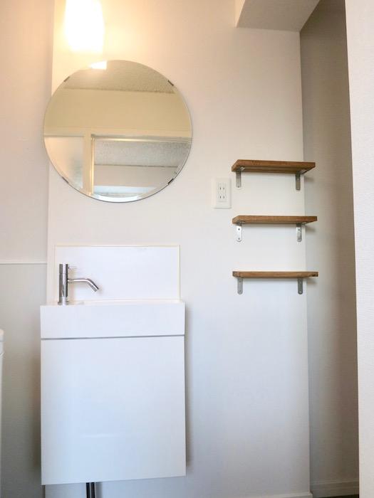 7A ナゴヤマンション今池  バスルーム おしゃれな洗面化粧台4