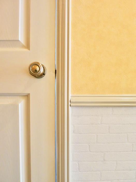 アプリコット&ホワイト&ゴールドが素敵なお部屋。 MA MAISON 弐番館1
