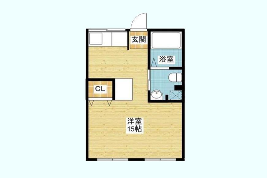 【BELLE PARK FRONT】403号室_間取り図