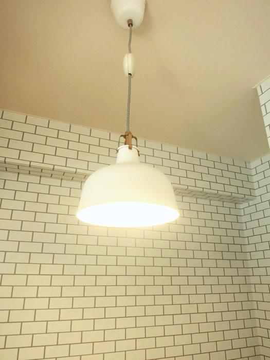 ホワイトレンガが素敵な北欧風キッチン MA MAISON 弐番館2