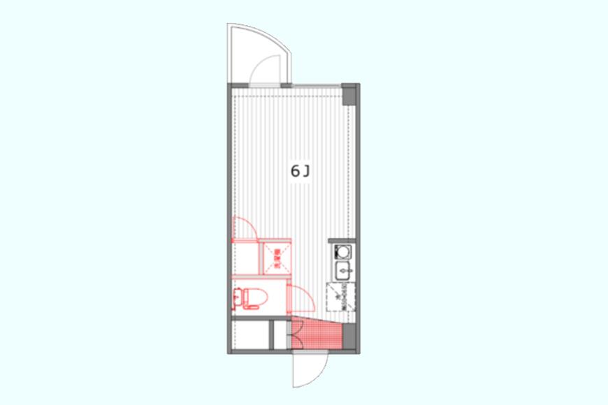 【TOMOS丸の内】610号室_間取り図