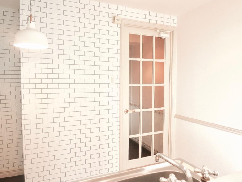 MA MAISON弐番館 201 カウンターからの眺め。北欧スタイルのお部屋。IMG_2074