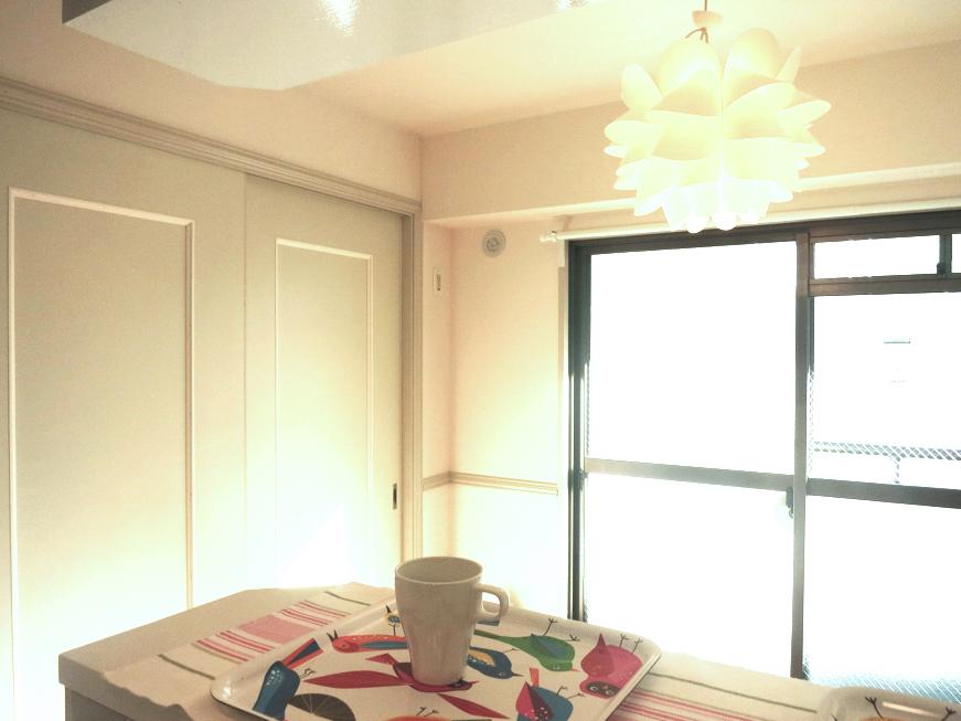 ホワイトレンガが素敵な北欧風キッチン MA MAISON 弐番館6