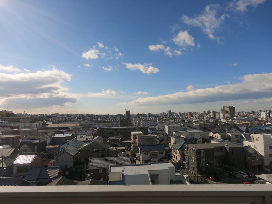 ARK HOUSE SOUTH 6A 気持ちいいルーフバルコニーからの眺め。最高♪ 8
