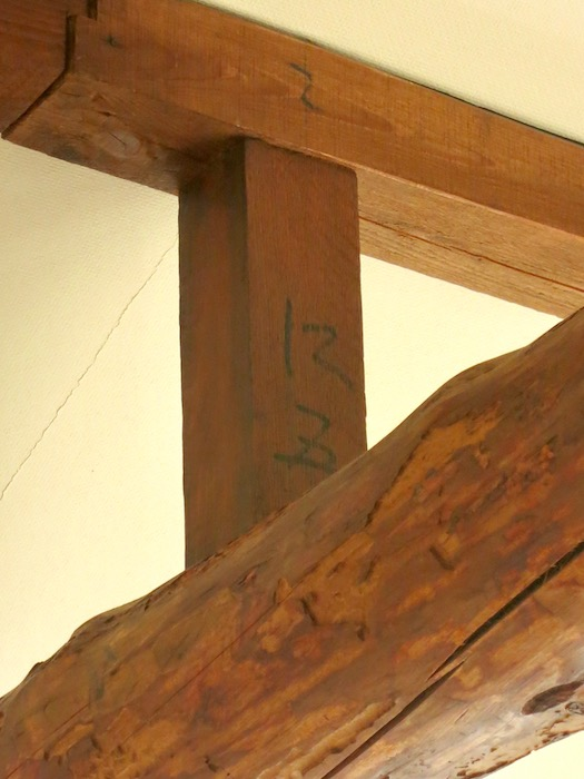 グランスイート黒川テラス103号室 梁がかっこいいです。2階。IMG_2745