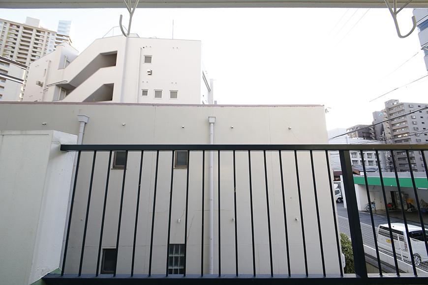 【メゾン千種】ベランダ_2階なので眺望は・・・_MG_4186
