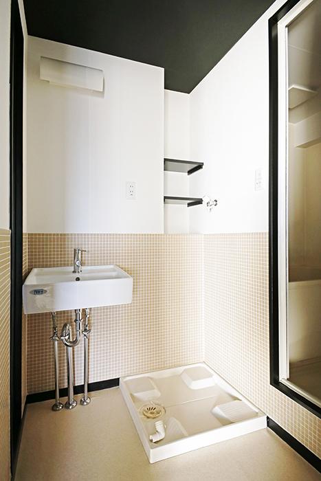 【三鈴ノール】水周り_独立洗面台・室内洗濯機置き場_MG_9915