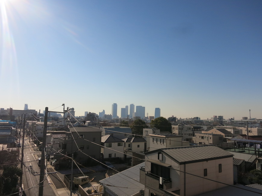 AZUR JOSAI 5B バルコニーからの眺め。17