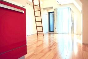 AZUR JOSAI 5B キッチン側からの眺め。0