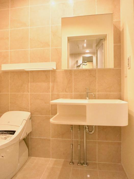 コレクション城西 North  102号室 サニタリー&トイレ&バスルーム。1