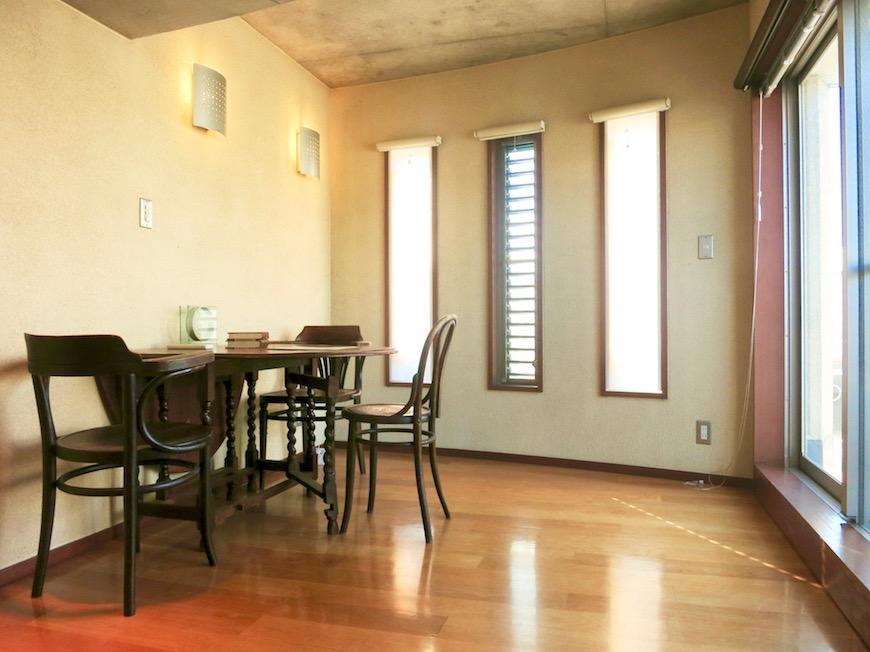 ARK HOUSE SOUTH 6A  ダイニングスペース。IMG_2907