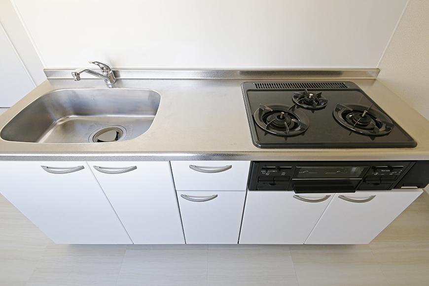 【MIYAKODORI bldg】LDK_キッチン周り全体_MG_3673