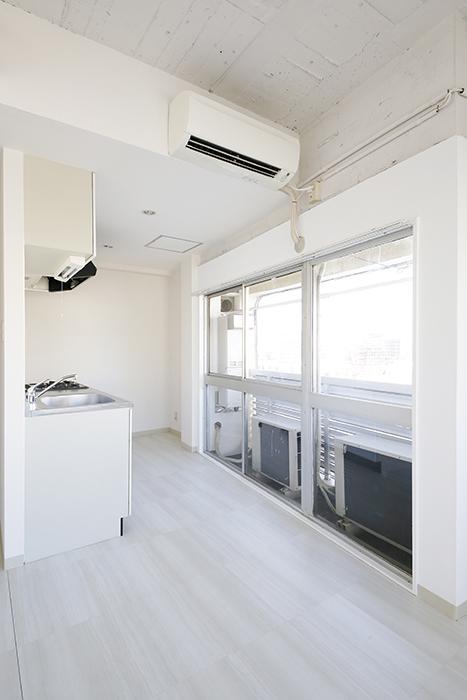 【MIYAKODORI bldg】LDK_キッチン全体_MG_3637