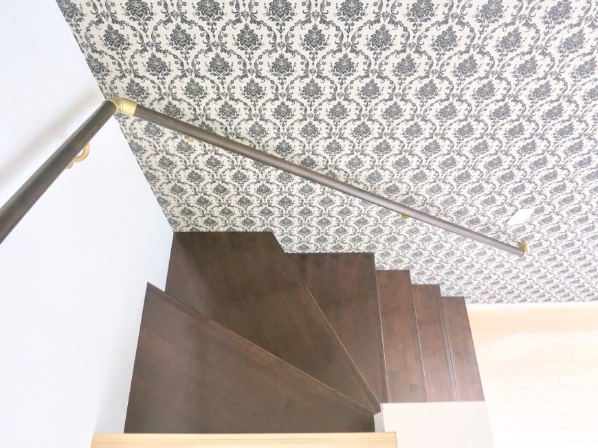 White Hills West 101号室 メゾネット階段スペース。2