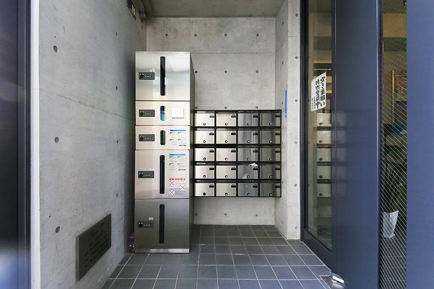 【Space T】エントランス_オートロック&宅配ボックスも完備!_MG_9761