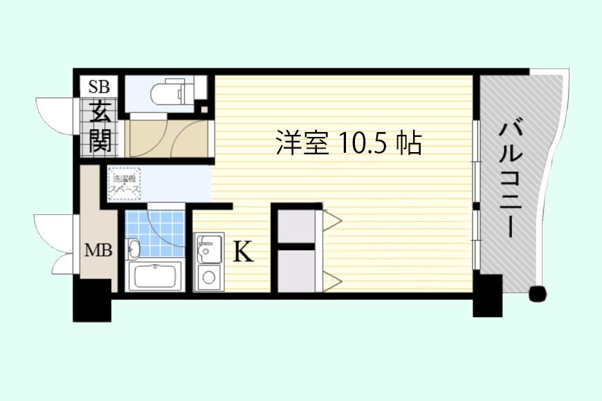 【間取り図】X-OVER21覚王山_603号室