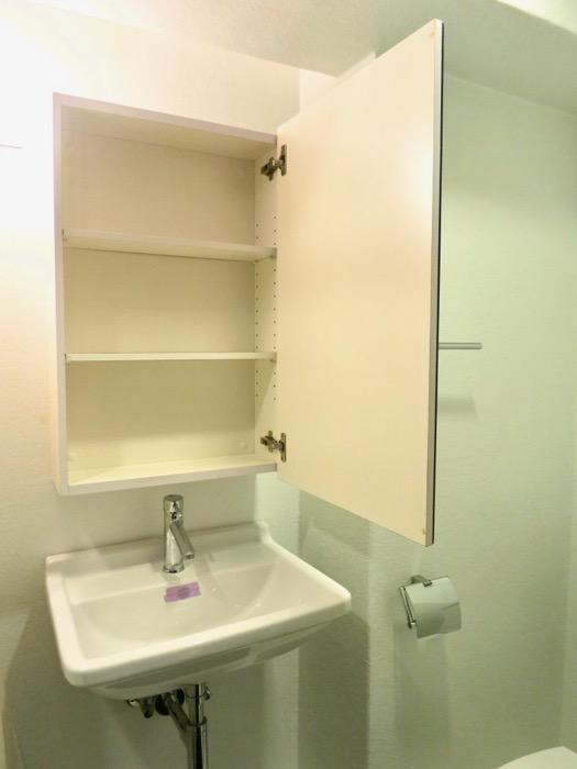 FLATS GAZERY 603号室  スタイリッシュな化粧台。どこを見ても美しい空間。