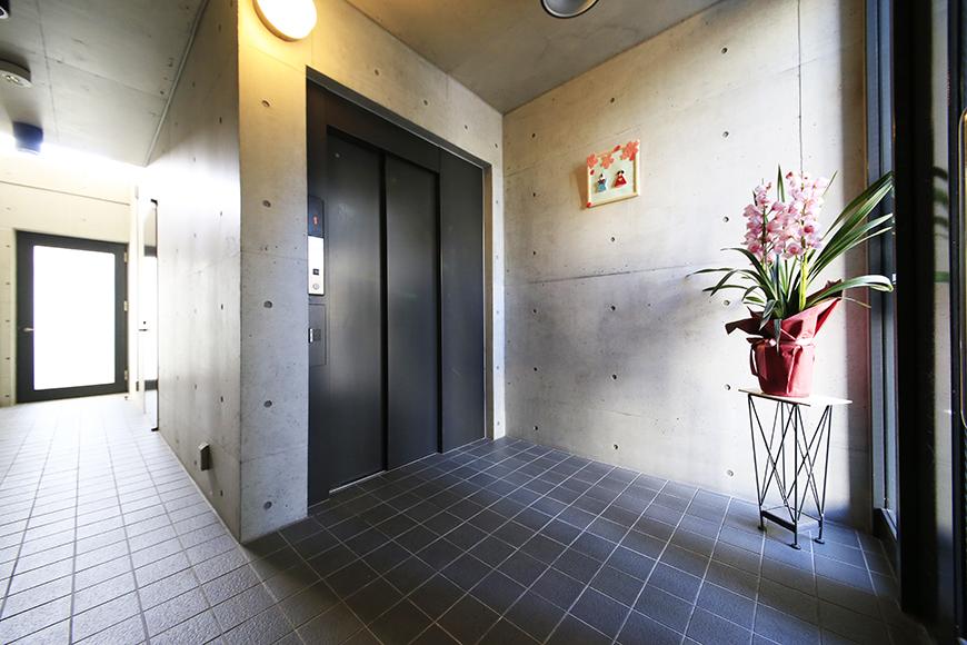 【Space T】共用部_1Fエレベータホール_MG_0217