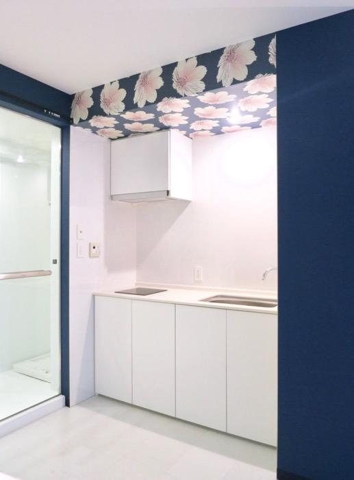 FLATS GAZERY  409号室。桜咲くキッチンスペース。0