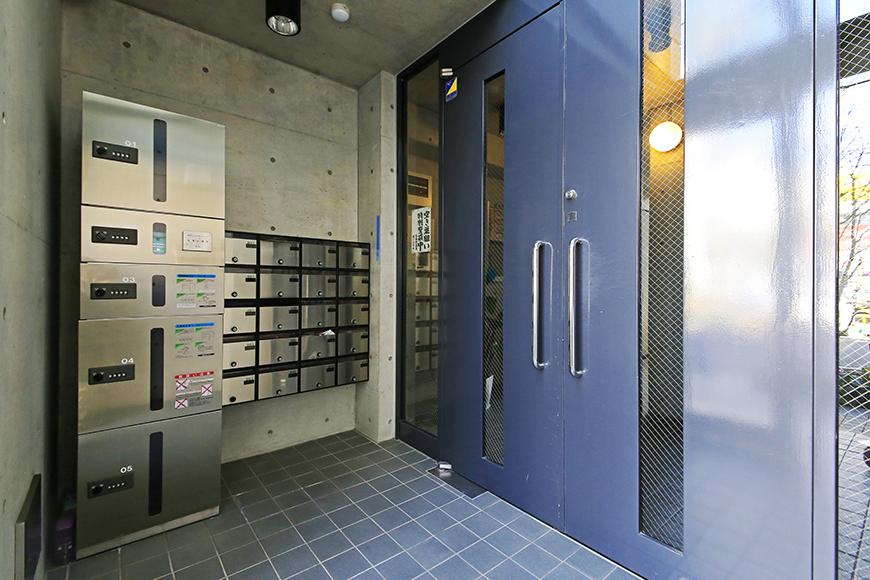 【Space T】エントランス_オートロック&宅配ボックスも完備!_MG_9754