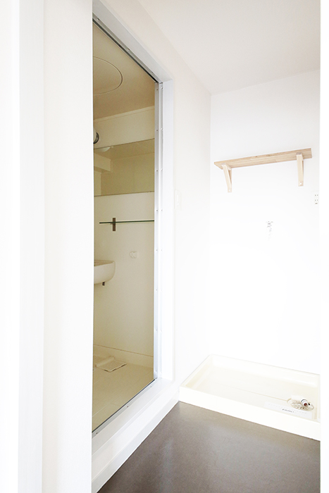 【X-OVER21覚王山】水周り_室内洗濯機置き場・バスルーム_MG_6747