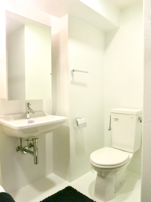 FLATS GAZERY 603号室 ホテルライクなバスルーム。美しく秩序のある空間。9