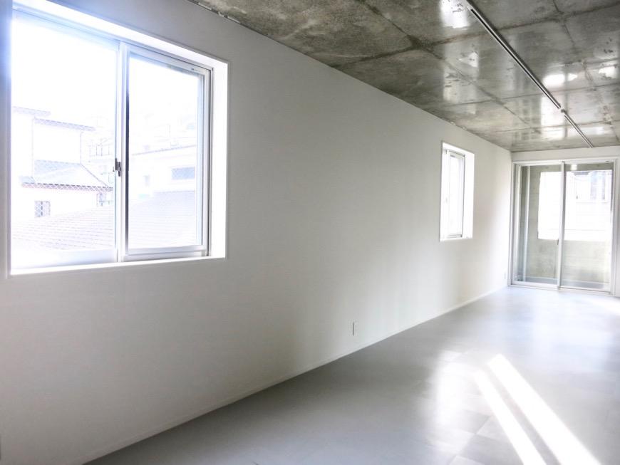 白壁ふたば荘 B,Dtype シンプルクールなギャラリー的空間。