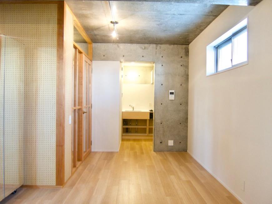 白壁ふたば荘 Atype 隠れ家の中にある隠れ感のあるキッチン空間。