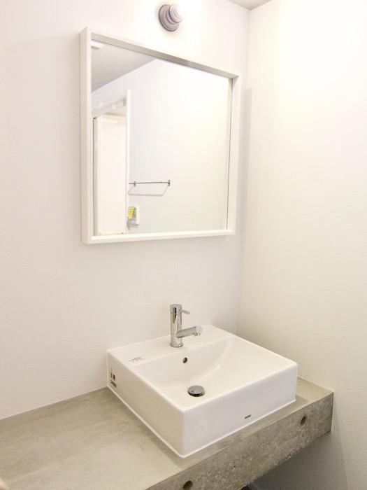 白壁ふたば荘 Btype/Dtype 共通バスルーム&サニタリールーム。