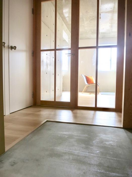 白壁ふたば荘 Ctype G号室 コンクリートと木目の素材が素敵なお部屋。